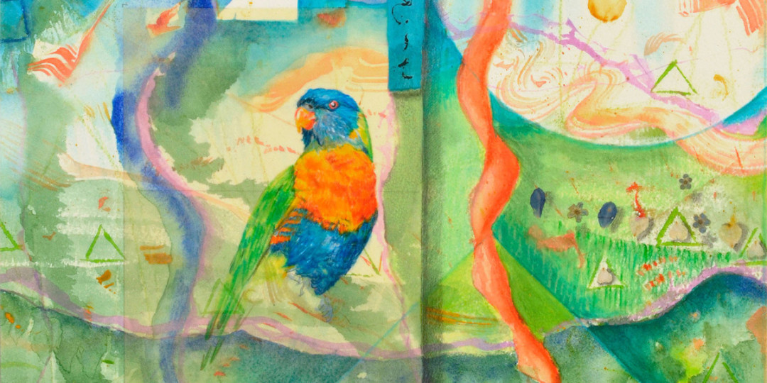 Song for Rainbow Parrot, Kathleen O'Brien