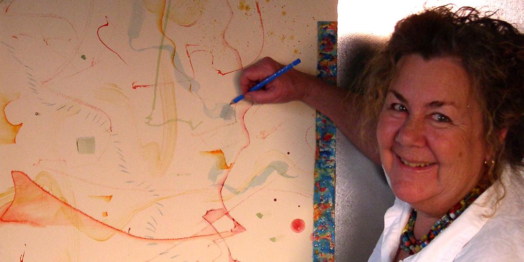 Kathleen O'Brien drawing