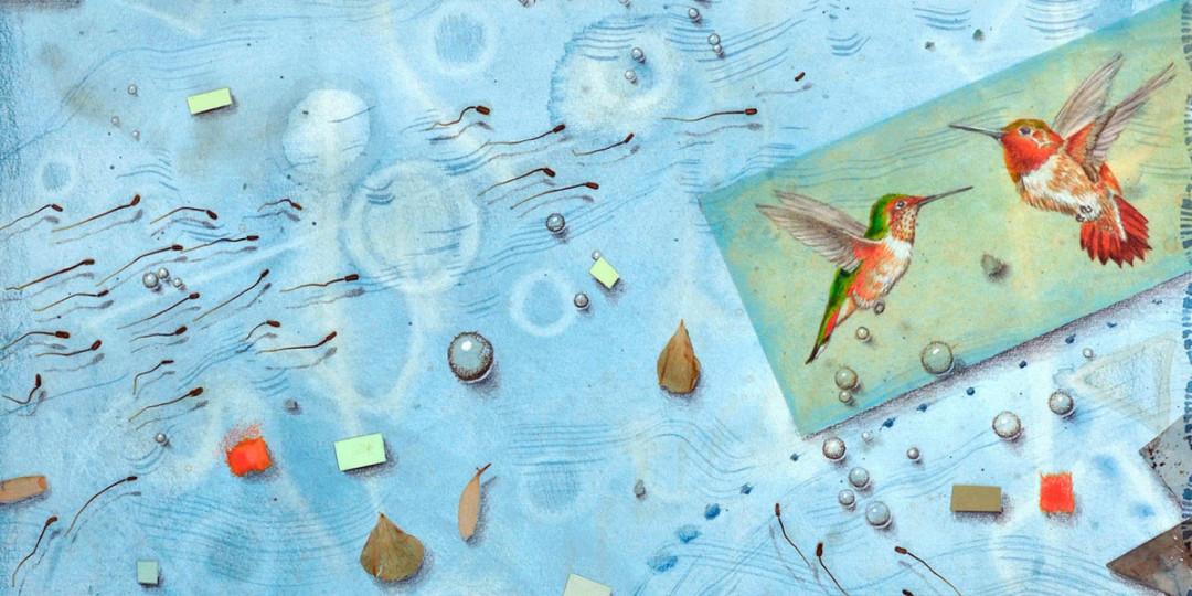 Summer Breezes, detail, Kathleen O'Brien