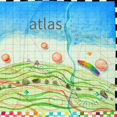 "Kathleen O'Brien ""Summer Atlas"" art portolio"