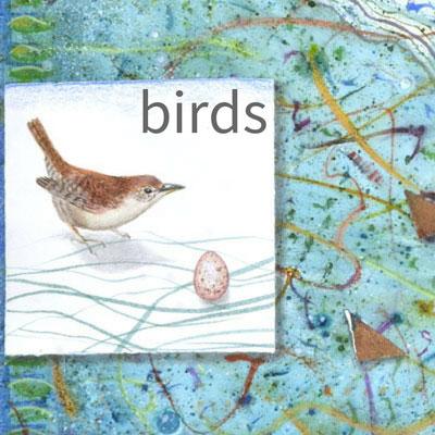 Kathleen O'Brien birds of a feather art portfolio